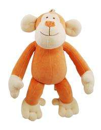Simply Fido Oscar Monkey w/ removable squeakers