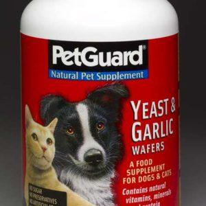 PetGuard Yeast and Garlic Wafers