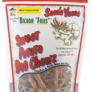 Sams Yam's Bichon Fries Sweet Potato Dog Chews, 9 oz
