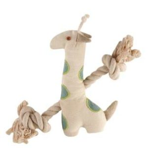 Simply Fido Basic Rope Giraffe 9""