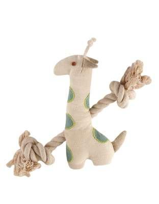 "Simply Fido Basic Rope Giraffe 9"""