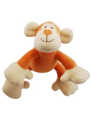 Simply Fido Oscar Monkey Petite w/ squeaker