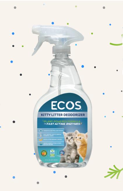 ECOS Kitty Litter Deodorizer -0