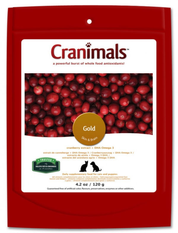 Cranimals Gold Organic Supplement