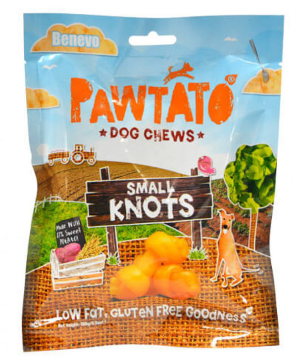 Benevo Vegan Sweet Pawtato Knots Small