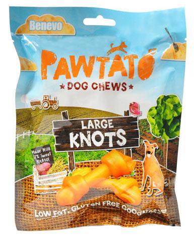 Benevo Vegan Sweet Pawtato Knots Large
