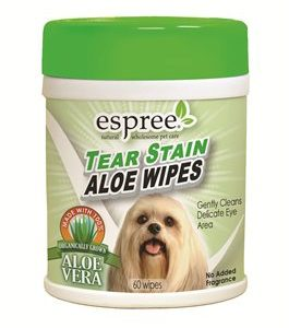 Aloe Tear Stain Wipes