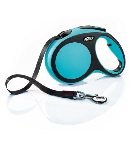 Comfort leash by flexi blue