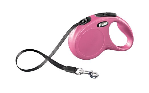 Flexi Classic Tape Leash Pink