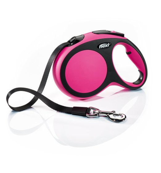 Comfort leash by flexi pink