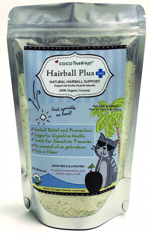 CocoTherapy Hairball Plus For Cats