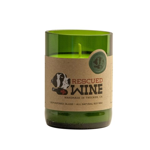 Rescued Wine Handmade Soy Candle- Pinot Noir-0