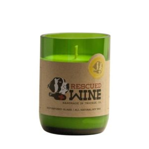 Rescued Wine Handmade Soy Candle- Sauvignon Blanc-0