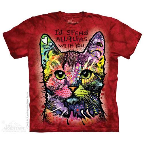 9 Lives shirt