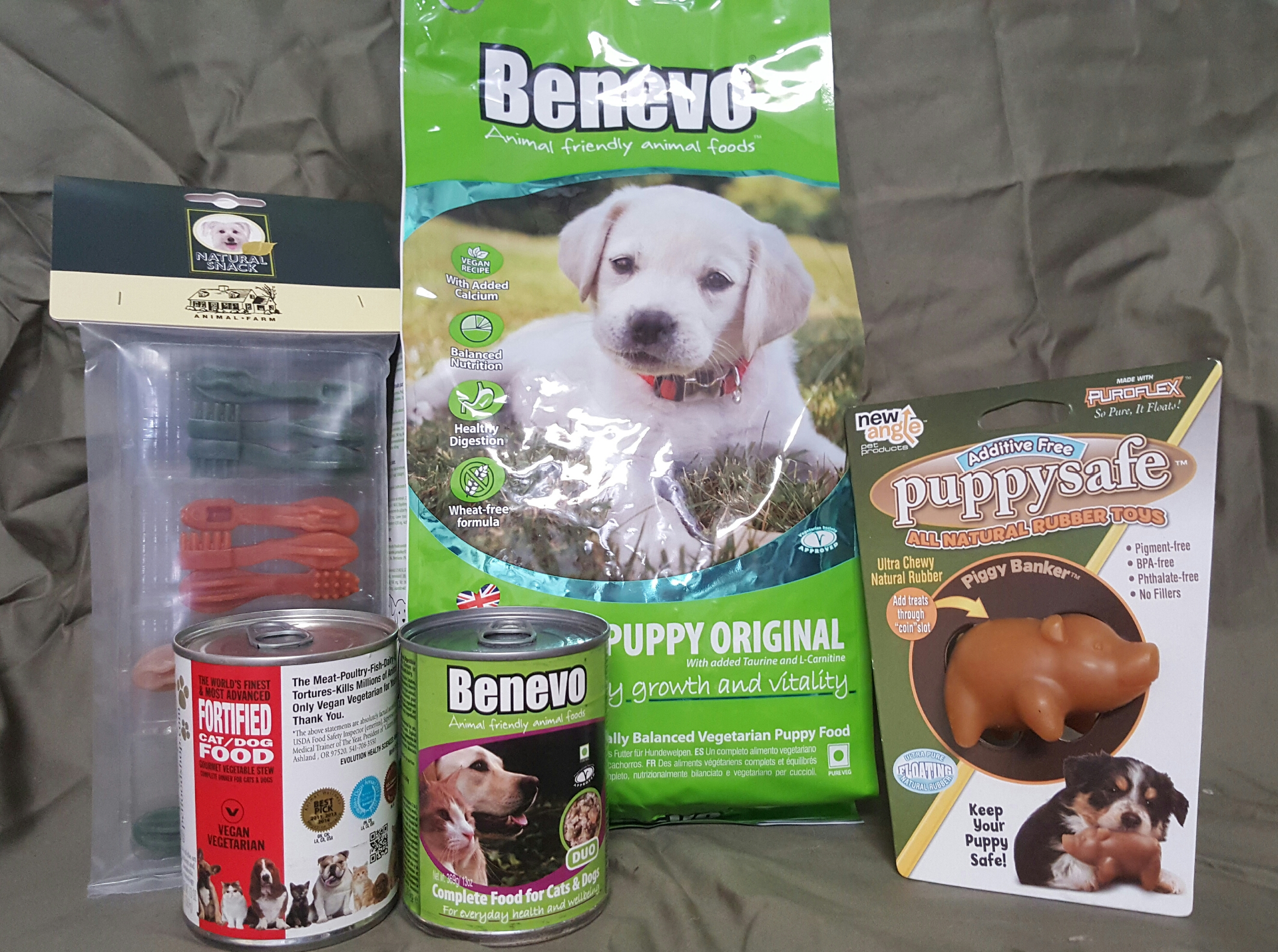 Vegan Puppy Starter Kit