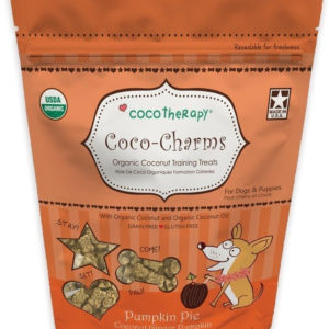 CocoTherapy Coco-Charms Training Treats - Pumpkin Pie