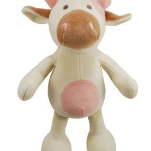 """Simply Fido Millie Cow Toy, 10"""", White"""
