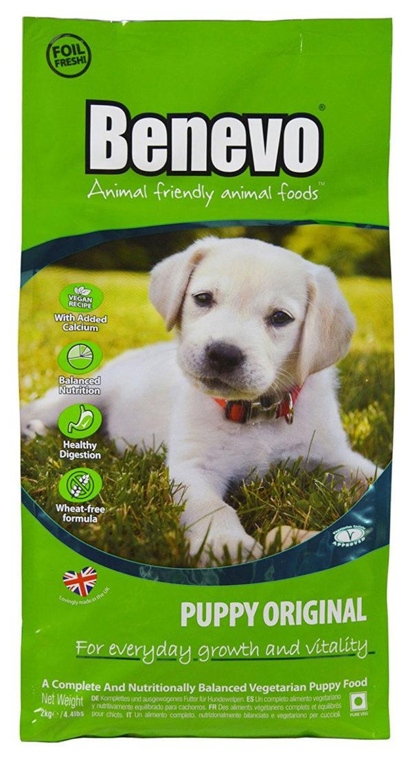 Benevo Vegan Vegetarian Puppy Dog Food