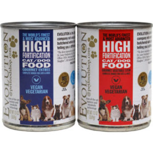 Evolution Diet Vegan Canned Food For Cats and Dogs