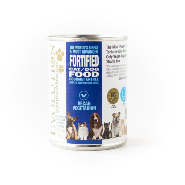 Evolution Diet Vegan Canned Food For Cats and Dogs Gourmet Entree