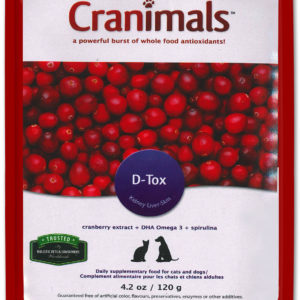 Cranimals D-TOX Spirulina Organic Supplement