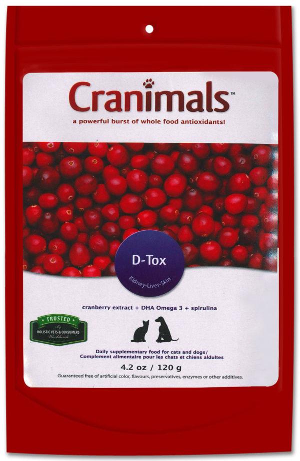 Cranimals D-TOX Spirulina Organic Supplement