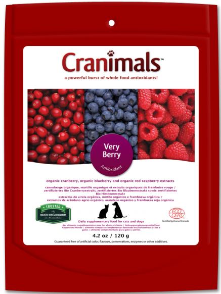 Cranimals VERY BERRY Antioxidant Organic Supplement