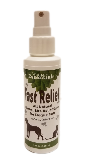 Animal Essentials Fast Relief All Natural Herbal Bite Relief Spray for Dogs & Cats-0