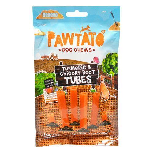 Benevo's Pawtato Turmeric & Root Tubes, 4.2 oz-0
