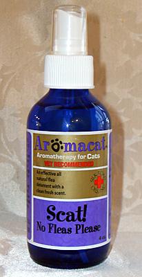AromaCat SCAT! No fleas Please 4oz-0