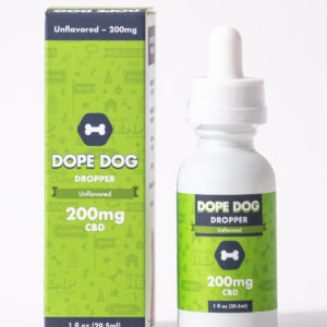 DopeDog Unflavored CBD Oil 200mg-0