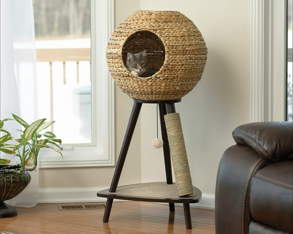 Sauder Natural Sphere Cat Tower-0