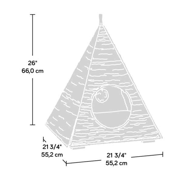 Sauder Pyramid Cat Nester-2150