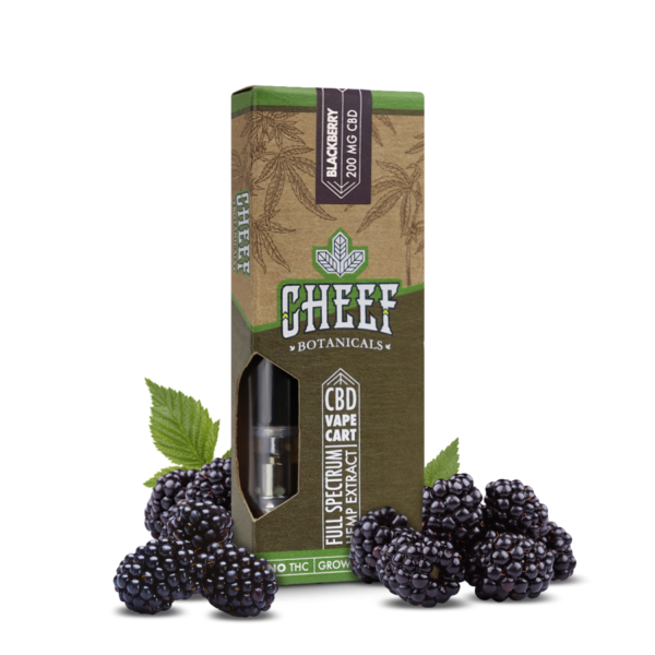 Cheef Botanicals - CBD Vape Cartridge-2271