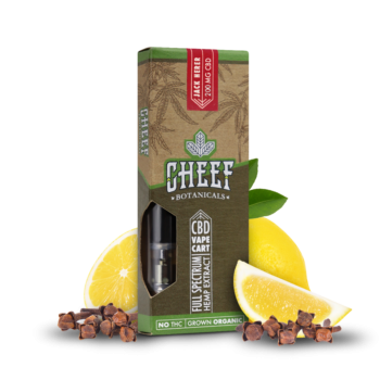 Cheef Botanicals - CBD Vape Cartridge-2266