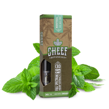 Cheef Botanicals - CBD Vape Cartridge-2264