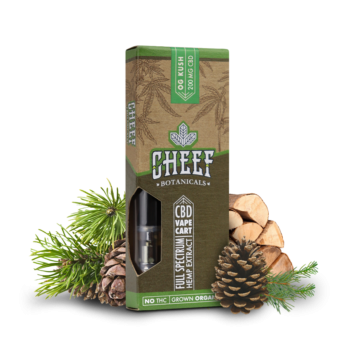 Cheef Botanicals - CBD Vape Cartridge-2263