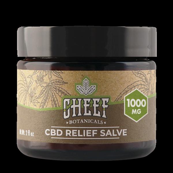 Cheef Botanicals CBD Relief Salve-0