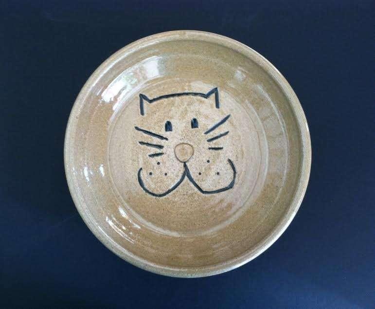 vegan-pottery-ceramic-bowl-cat-gift